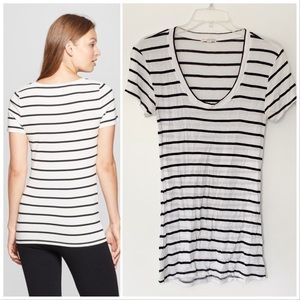 ★ ZENANA OUTFITTERS | STRIPPED CASUAL SHIRT TOP